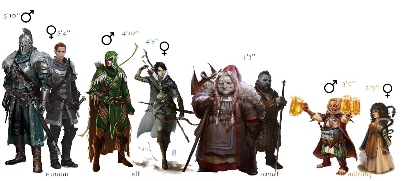 43fb72cb0 The Birthright campaign allows players to choose from nine character races   Dwarf